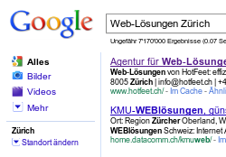 HotFeet Web-Lösungen sind SEO-Friendly